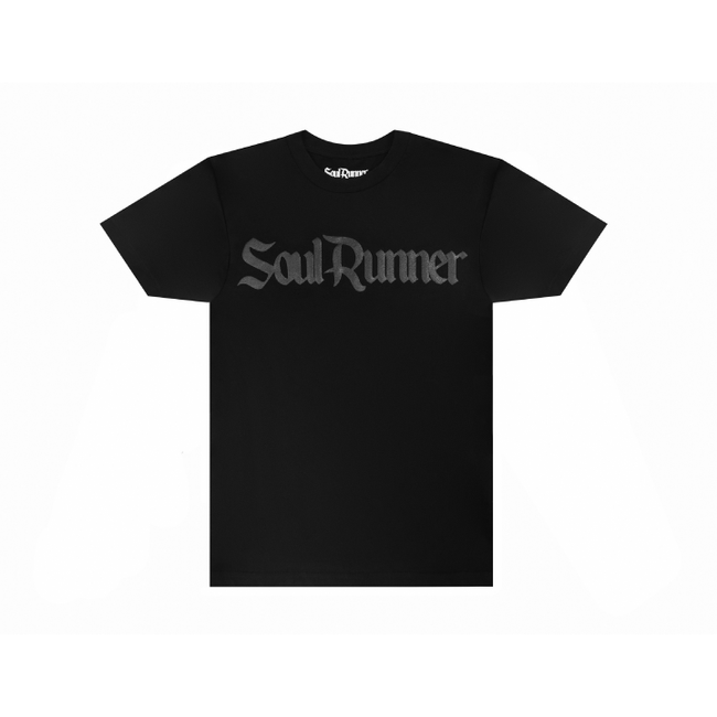 Soul Runner Black On Black Premium Tee