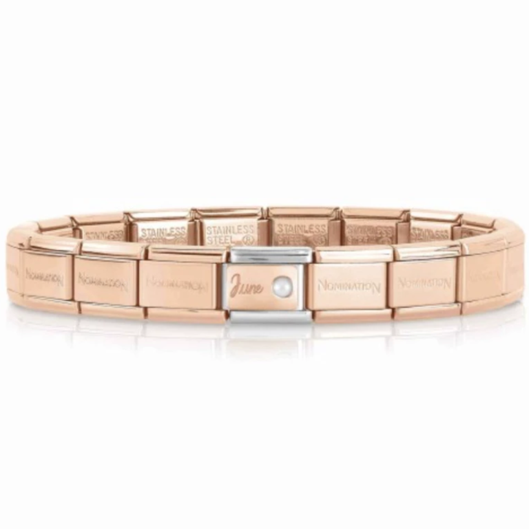 June Rose Gold Starter Bracelet