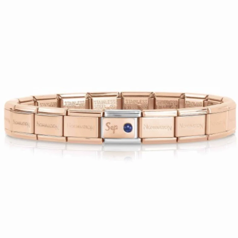September Rose Gold Starter Bracelet