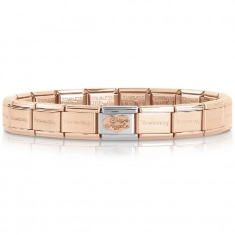 My Angel Rose Gold Starter Bracelet