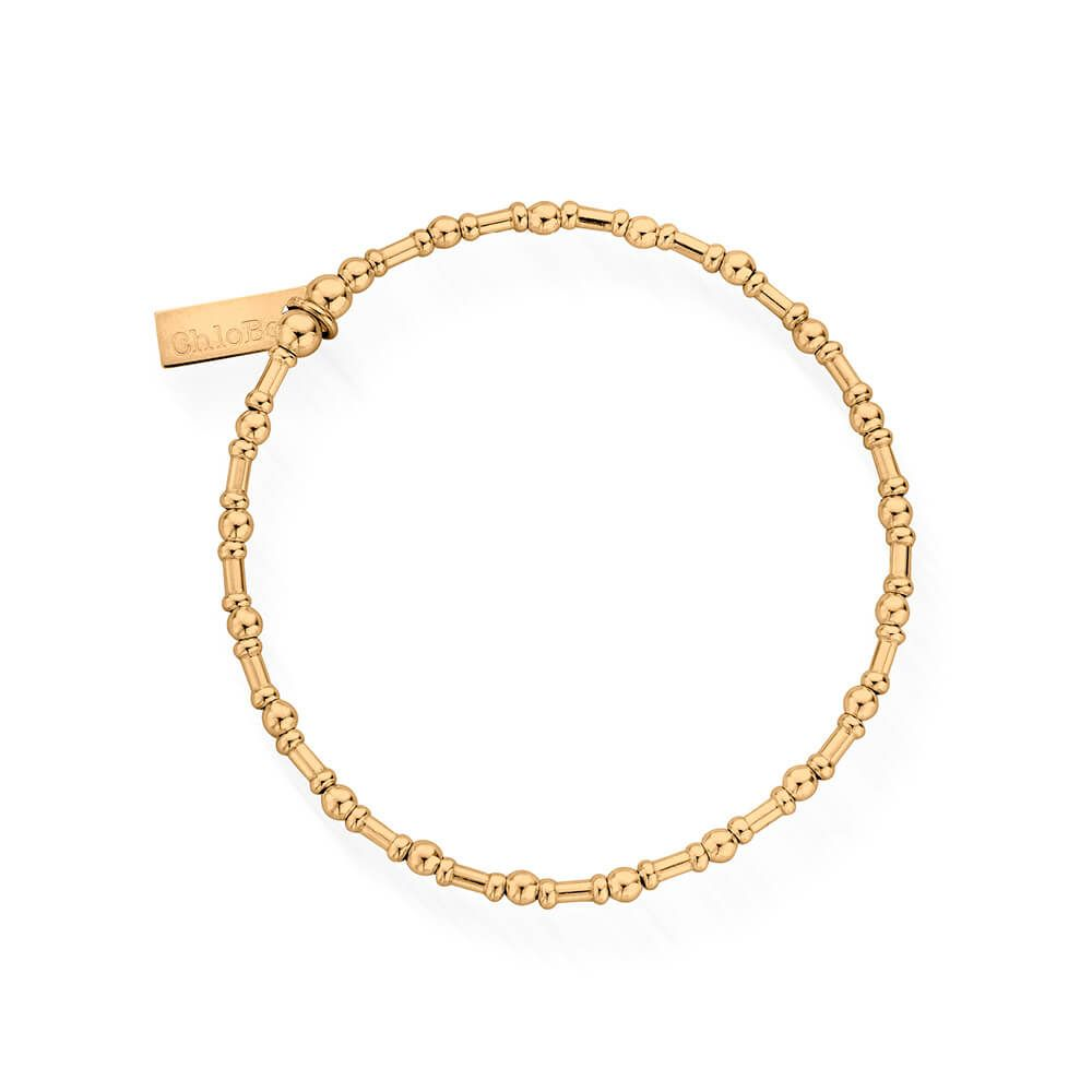 Rhythm of Water Bracelet Gold