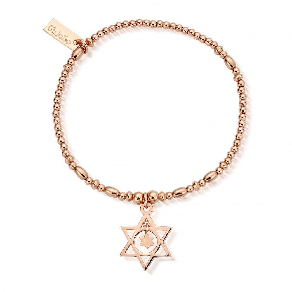 Star in Star Bracelet Rose