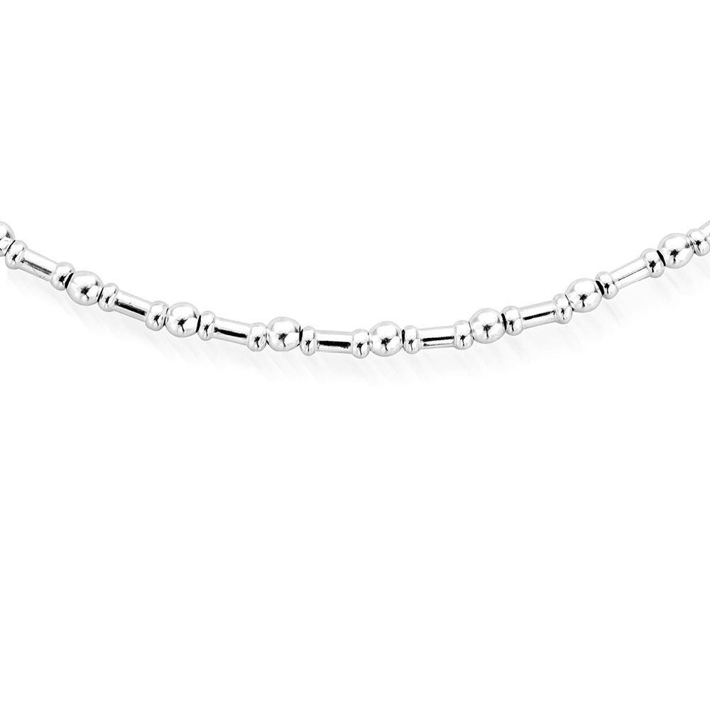 Rhythm of Water Necklace Silver