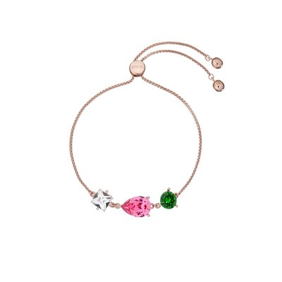 Crystal Candy Bracelet Rose