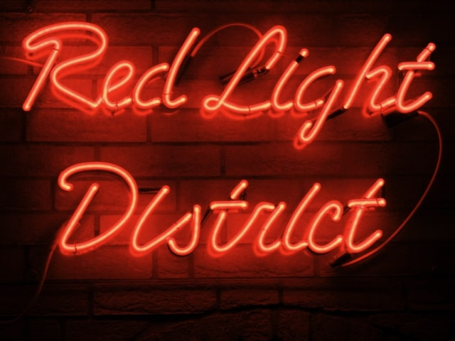 Set off on a private guided walking tour of the Red Light District in Amsterdam holland
