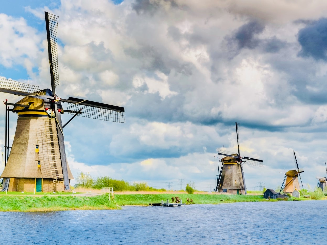 public windmill tour at kinderdijk for an authentic experience  with tulip tours