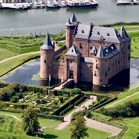 Miuderslot Castle Amsterdam from Above