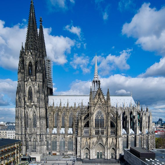 image of the Gothic Cathedral Dom of Cologne
