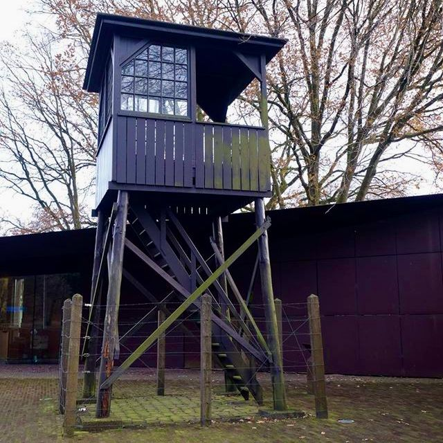 watch tower nazi camp amersfoort in the Netherlands