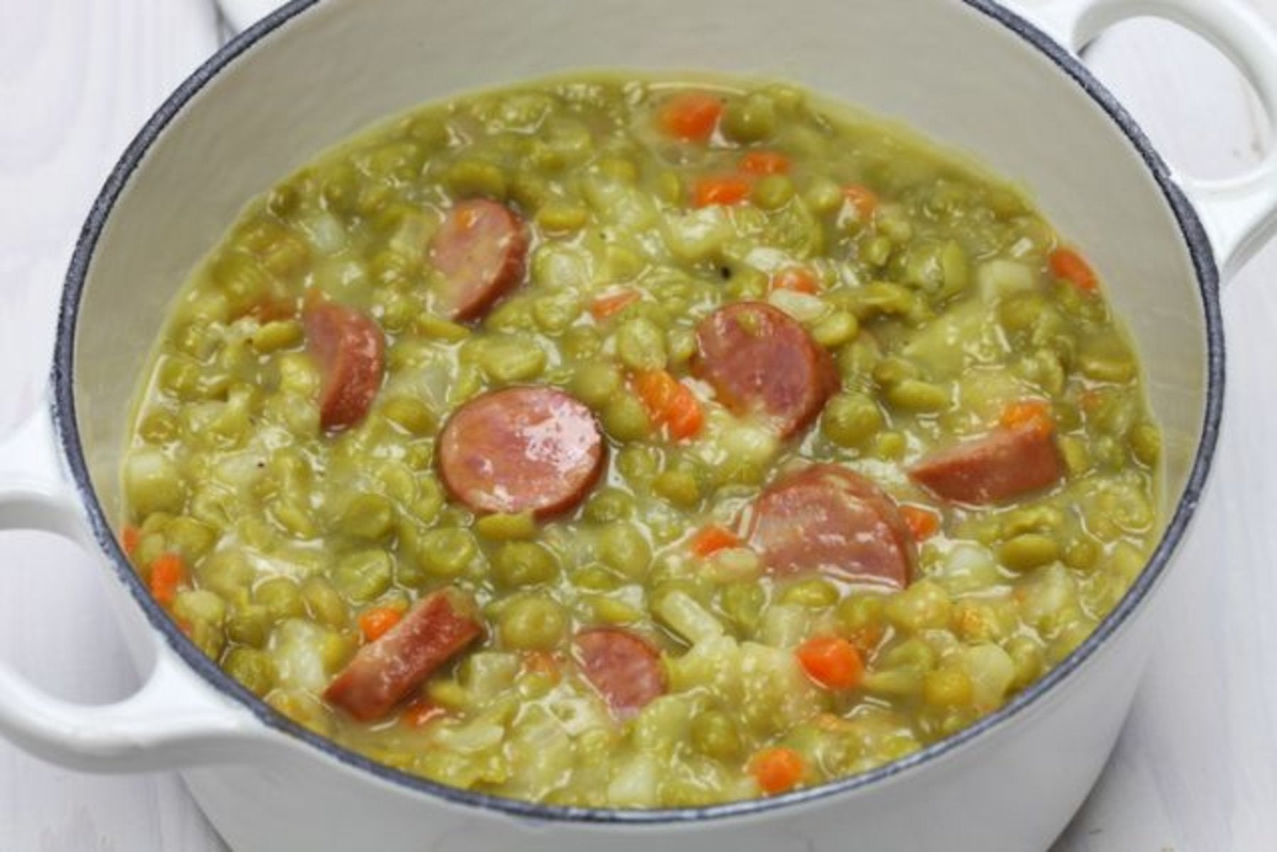 typical dutch food is erwtensoep (pea soup) or snert