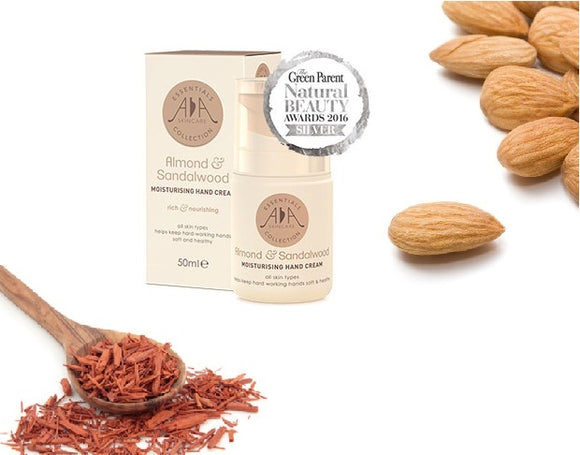 Almond & Sandalwood Hand Cream 50ml - ekoface