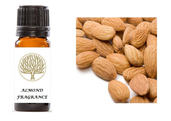 Almond Fragrance Oil 10ml - ekoface