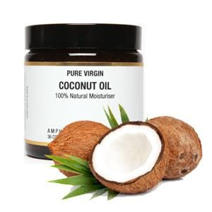 Virgin Coconut Oil Moisturiser 120ml - ekoface