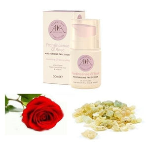 Frankincense & Rose Moisturising Cream 50ml - ekoface