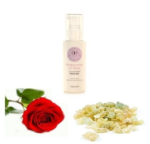 Frankincense & Rose Cleansing Face Gel 100ml - ekoface