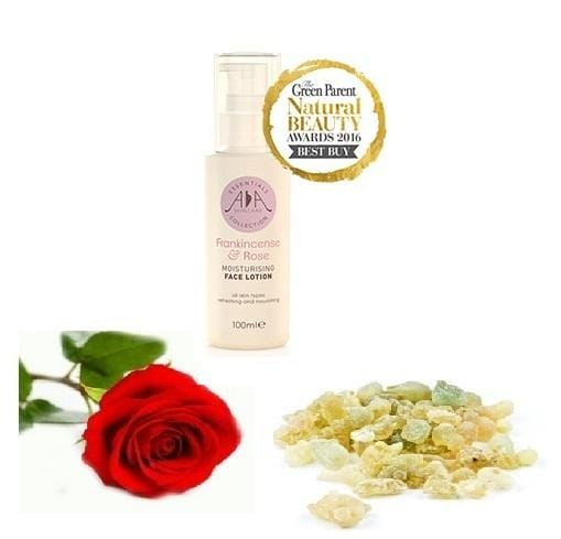 Frankincense & Rose Moisturising Face Lotion 100ml - ekoface