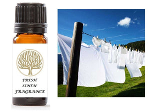 Fresh Linen Fragrance Oil 10ml - ekoface