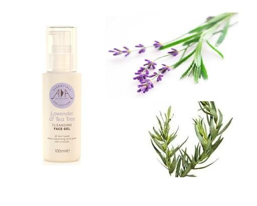 Lavender & Tea Tree Cleansing Face Gel 100ml - ekoface