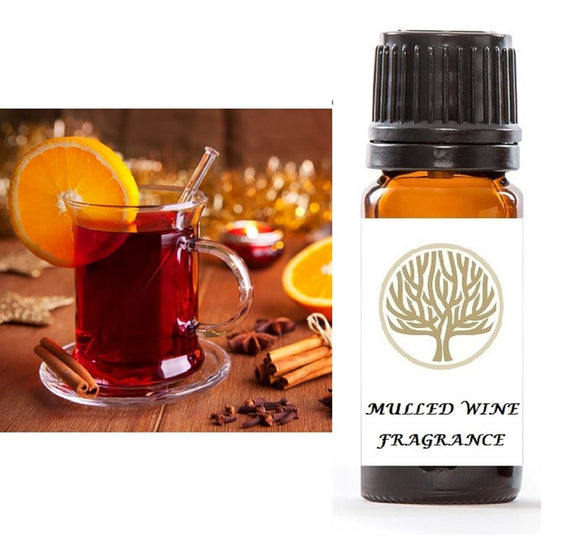 Mulled Wine Fragrance Oil 10ml - ekoface