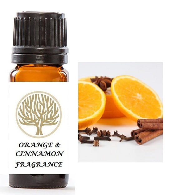 Orange & Cinnamon Fragrance Oil 10ml - ekoface