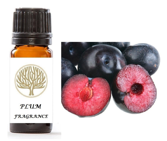 Plum Fragrance Oil 10ml - ekoface