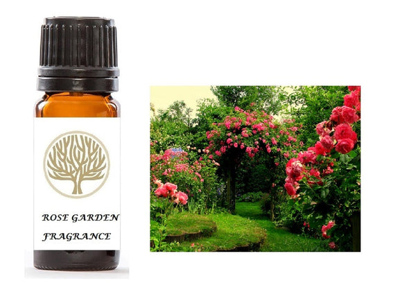Rose Garden Fragrance Oil 10ml - ekoface