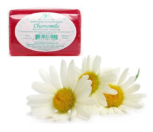 Chamomile Clear Vegetable Glycerin Soap 125g - ekoface