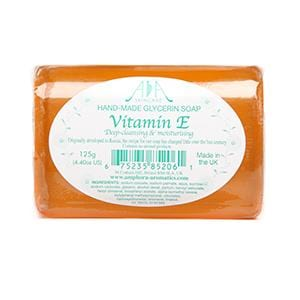 Vitamin E Clear Vegetable Glycerin Soap 125g - ekoface