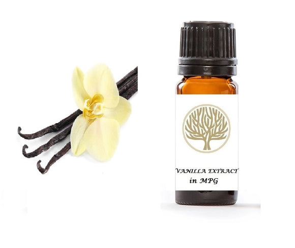 Vanilla Extract in MPG 10ml - ekoface