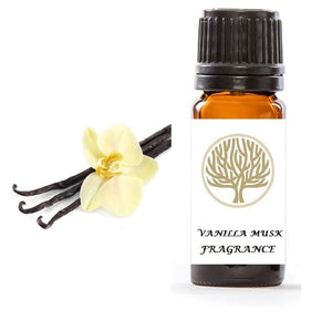 Vanilla Musk Fragrance Oil 10ml - ekoface