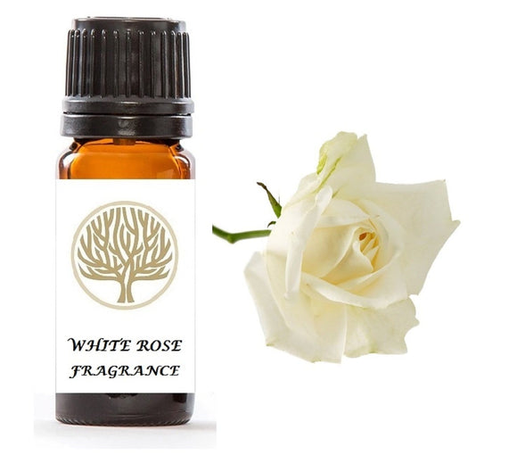 White Rose Fragrance Oil 10ml - ekoface