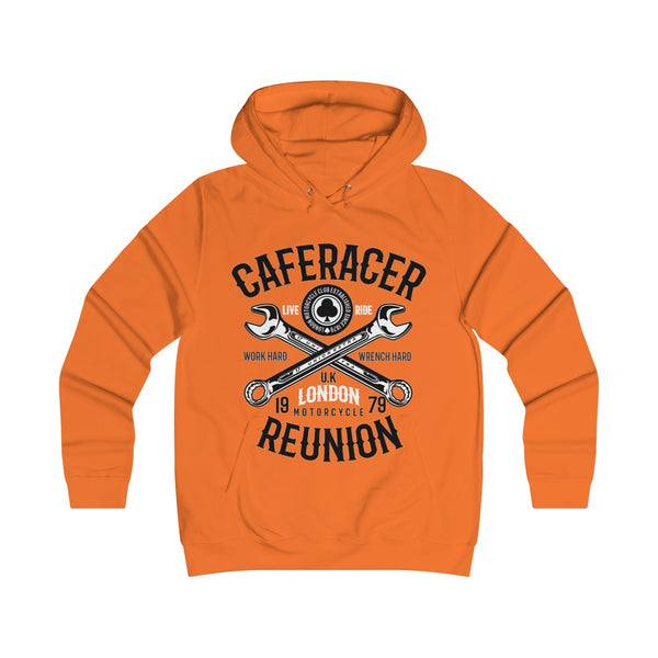 Cafe Racer Reunion Girlie College Hoodie