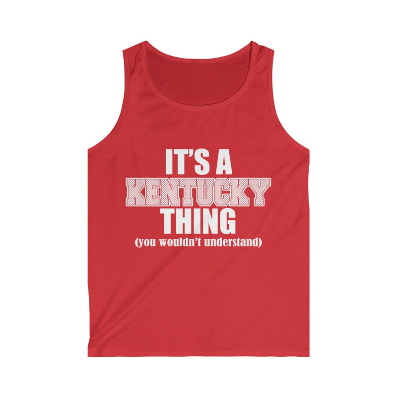 It's A Kentucky Thing Men's Softstyle Tank Top