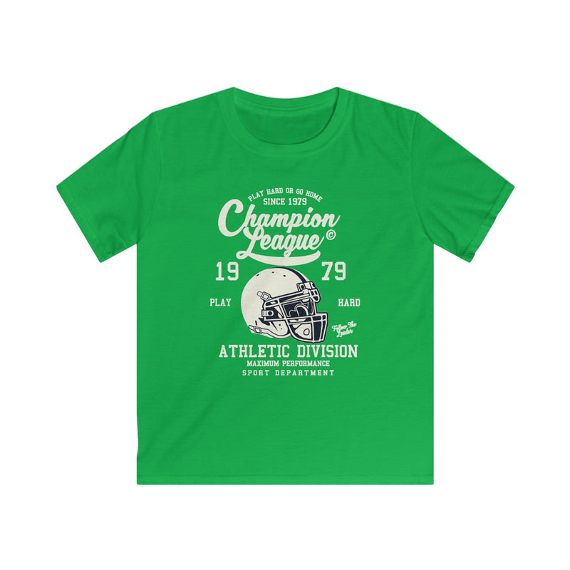 Champion League 1979 Athletic Division Kids Softstyle Tee