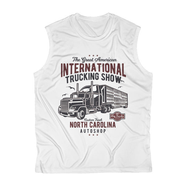 International Trucking Show Men's Sleeveless Performance Tee