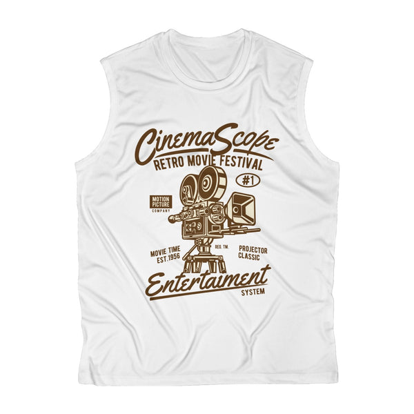 Cinema Scope Entertainment Men's Sleeveless Performance Tee