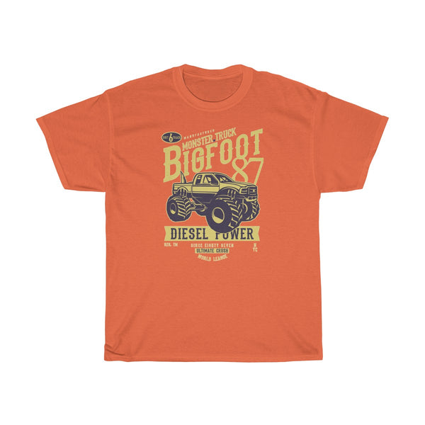 BigFoot Diesel Power Unisex Heavy Cotton Tee