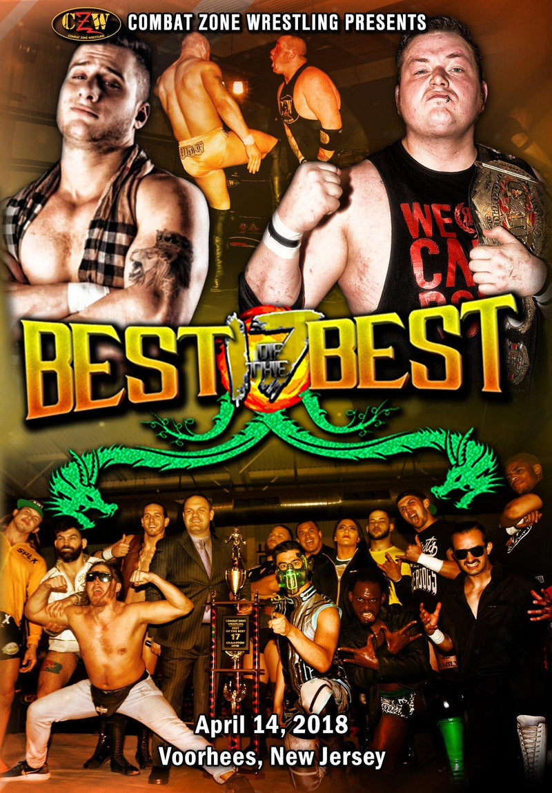 "CZW ""Best of the Best 17"" 04/14/18 DVD"