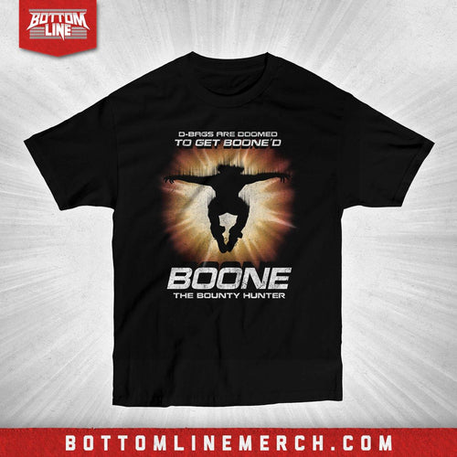 "Boone The Bounty Hunter ""D-Bags Are Doomed"" Shirt"