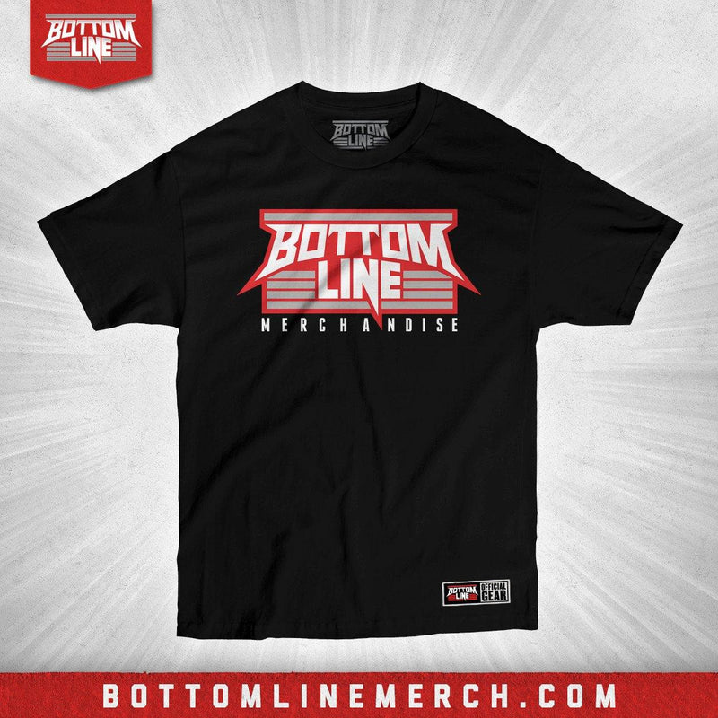 "Bottom Line ""Logo"" Black Shirt"