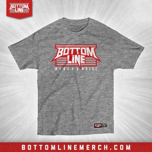 "Bottom Line ""Logo"" Athletic Heather Shirt"
