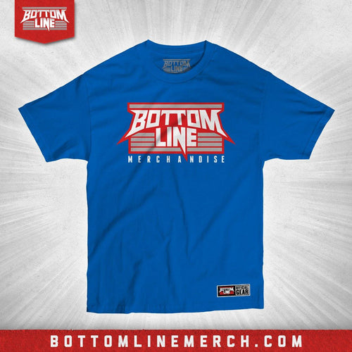 "Bottom Line ""Logo"" Royal Shirt"
