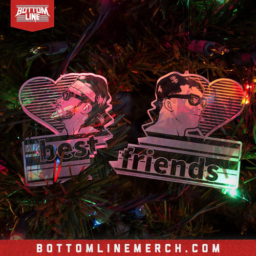 "Chuck Taylor ""Best Friends"" Ornament"
