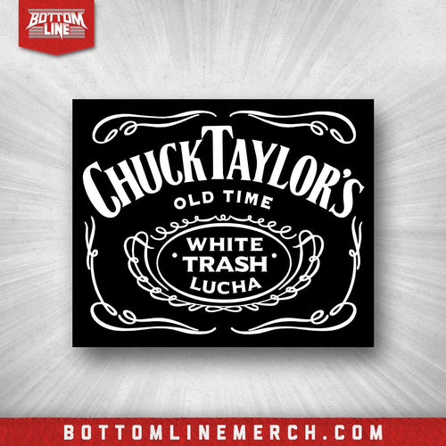 "Chuck Taylor ""White Trash Lucha"" Sticker"