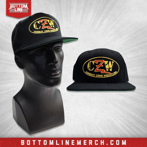 "CZW ""Logo Color"" Black Snapback"