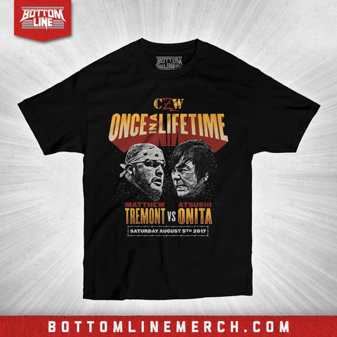 "CZW ""Once In A Lifetime"" Shirt"