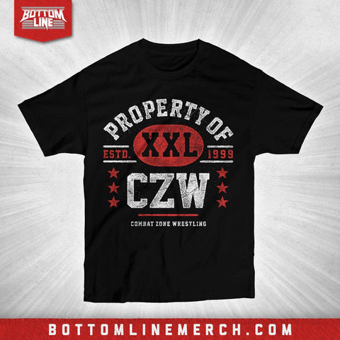 "CZW ""Property Of..."" Shirt"