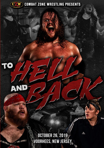 "Buy Now – CZW ""To Hell and Back"" DVD 10/26/2019 – Wrestler & Wrestling Merch – Bottom Line"