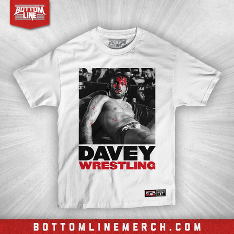 "David Starr ""Davey Wrestling"" Shirt"