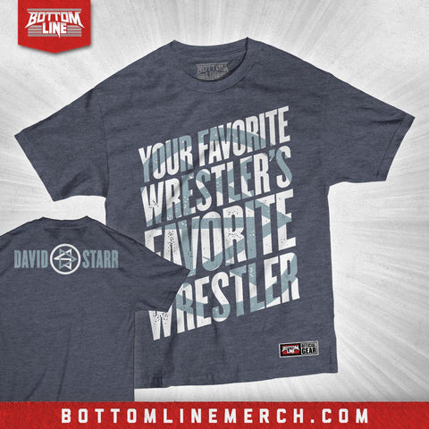 "David Starr ""Your Favorite Wrestler"" Shirt"